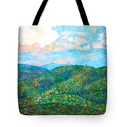Cloud Dance On The Blue Ridge Tote Bag