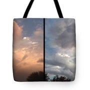 Cloud Diptych Tote Bag