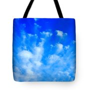 Cloud Formations I Tote Bag