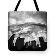 Cloud Gate Chicago Bean Tote Bag by Paul Velgos