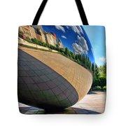 Cloud Gate Teardrop Tote Bag
