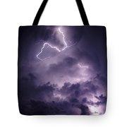 Cloud Lightning Tote Bag