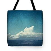 Cloud Over Island Tote Bag