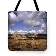 Cloud Passing Across The Cuillin Main Ridge And Bla Bheinn From Tokavaig Sleat Isle Of Skye Scotland Tote Bag