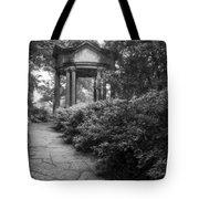 Cloud Pavilion Charcoal Sketch 2 Tote Bag