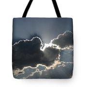 Cloud Rays Tote Bag