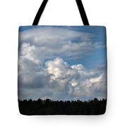 cloud scape sep 2014- Blue sky and clouds  Tote Bag
