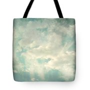 Cloud Series 1 Of 6 Tote Bag by Brett Pfister