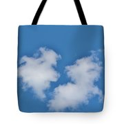Cloud Shapes Tote Bag