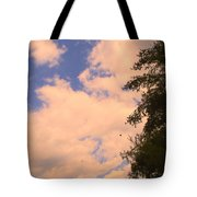 Cloud Slide Tote Bag