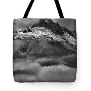 Cloud Smothered Peaks Tote Bag