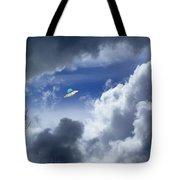 Cloud Surfing Tote Bag