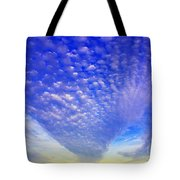 Cloud Tails At Sunrise Tote Bag