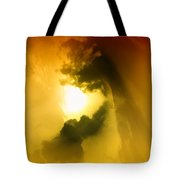 Cloud Whirl Tote Bag