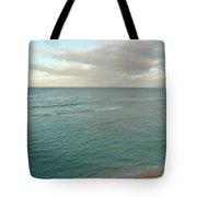Clouded Sea Tote Bag