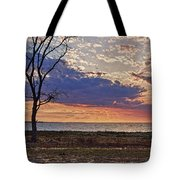 Clouding Up On Oyster Bay Tote Bag
