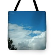 I Touched The Sky Tote Bag