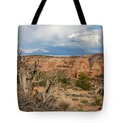 Clouds Above Tote Bag