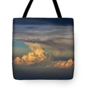 Clouds Above The Clouds Tote Bag