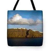 Clouds And Cliffs Tote Bag