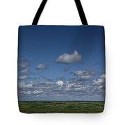 Clouds And Landscape In Alberta Canada Tote Bag