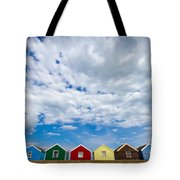 Clouds And Sheds Tote Bag