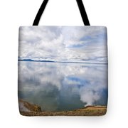 Clouds And Steam Tote Bag