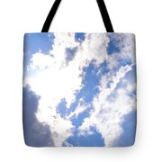 Clouds And Sunshine Tote Bag