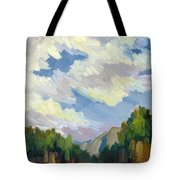 Clouds At Thousand Palms Tote Bag