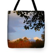Clouds Clearing Tote Bag