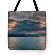 Clouds Explosion Tote Bag