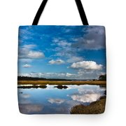 Clouds Flying Clouds Floating Tote Bag