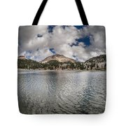 Clouds Form Over Lake Helen Tote Bag