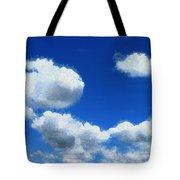 Clouds In A Blue Sky Tote Bag