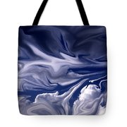 Clouds In Chaos Tote Bag