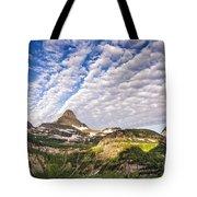 Clouds In Glacier Tote Bag
