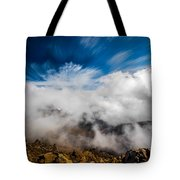 Clouds In Haleakala Tote Bag