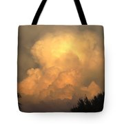 Clouds In The Evening II Tote Bag