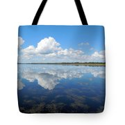Clouds In The Lake Tote Bag