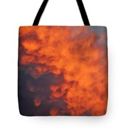 Clouds Of Fire Tote Bag