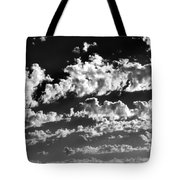 Clouds Of Freycinet Bw Tote Bag