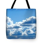 Clouds Of Glory II Tote Bag