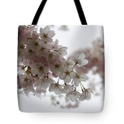Clouds Of Soft Pink Blossoms - A Tribute To Spring Tote Bag