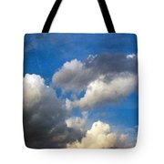 Clouds Of Today Tote Bag