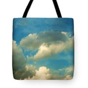 Clouds Of Tomorrow Tote Bag