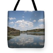 Clouds On Water Tote Bag