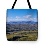 Clouds Over A Mountain Range, Torres Tote Bag