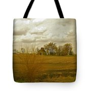Clouds Over An Illinois Farm Tote Bag