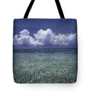 Clouds Over Bora Bora Tote Bag