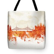 Clouds Over Budapest Hungary Tote Bag